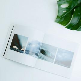 Broschüre freie Größe mit Klebenbindung