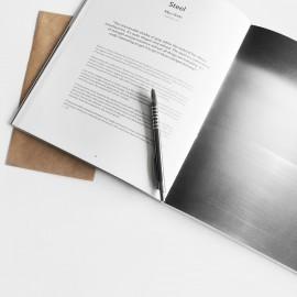 Broschüre Klammerbindung (Querformat)