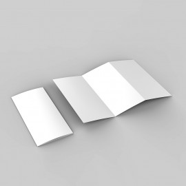 Folder mit Zickzackfalz