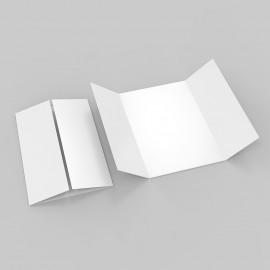 Folder mit Fensterfalz
